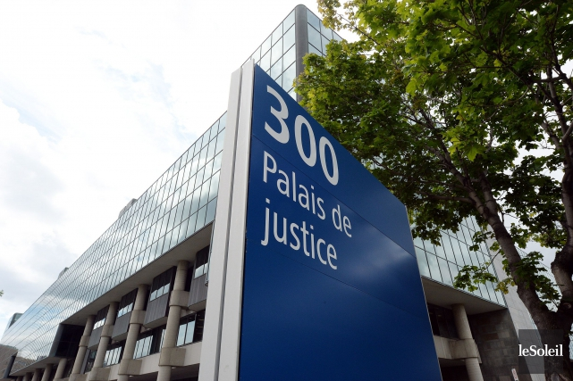 Au palais de justice de Québec, mardi, Pierre... (Photothèque Le Soleil, Erick Labbé)