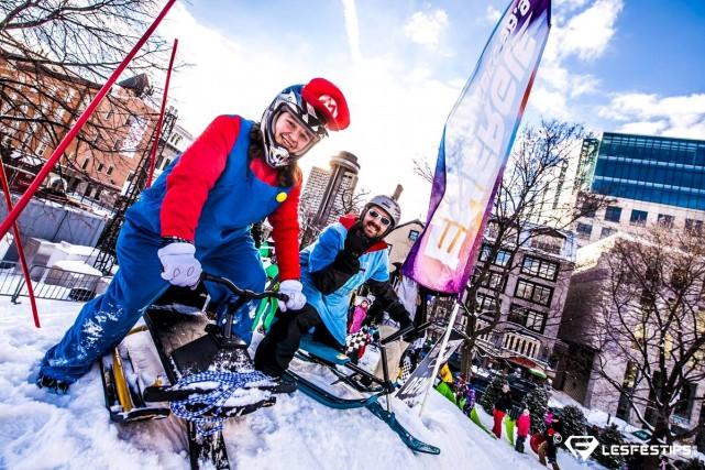 La station de ski Le Valinouët sera l'hôte du premier Grand Prix 3-skis en sol... (Courtoisie)