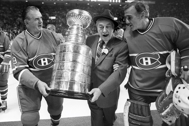 Maurice «Rocket» Richard, Hector «Toe» Blake et Jacques... (La Presse canadienne, Ian Barrett)