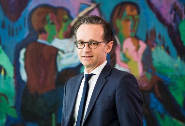 Le ministre de la Justice allemand Heiko Maas... (AFP, Odd Andersen)