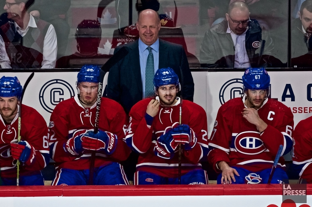Le Canadien s'est incliné 2-1 en prolongation face... (Photo André Pichette, La Presse)