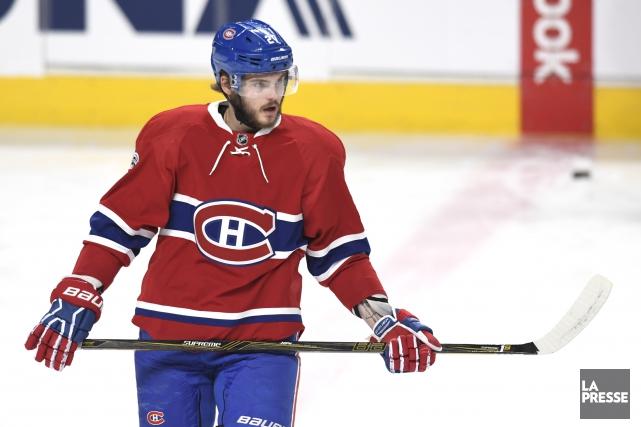 Alex Galchenyuk aremporté seulement 33% de ses mises... (Photo Bernard Brault, archives La Presse)