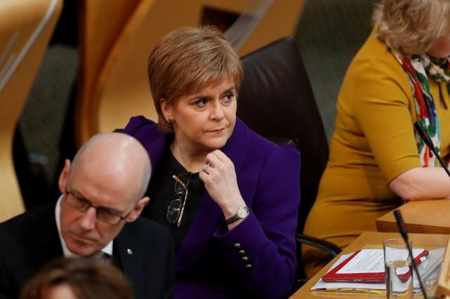 La première ministre écossaise, Nicola Sturgeon.... (PHOTO archives REUTERS)