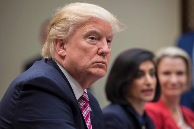 Le président américain, Donald Trump... (PHOTO JIM WATSON, AFP)
