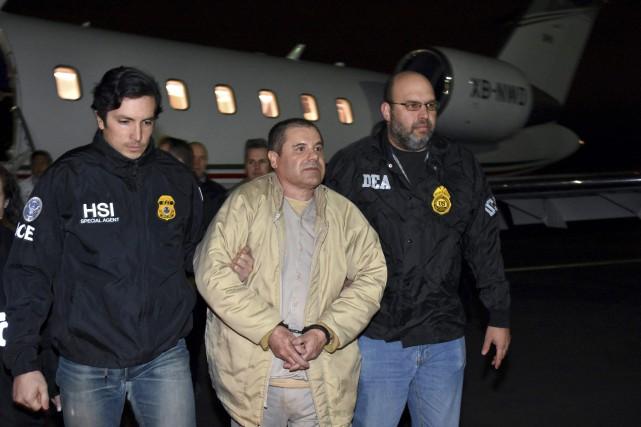 Joaquin Guzman, 59 ans, est accusé d'avoir dirigé... (photo archives AP)