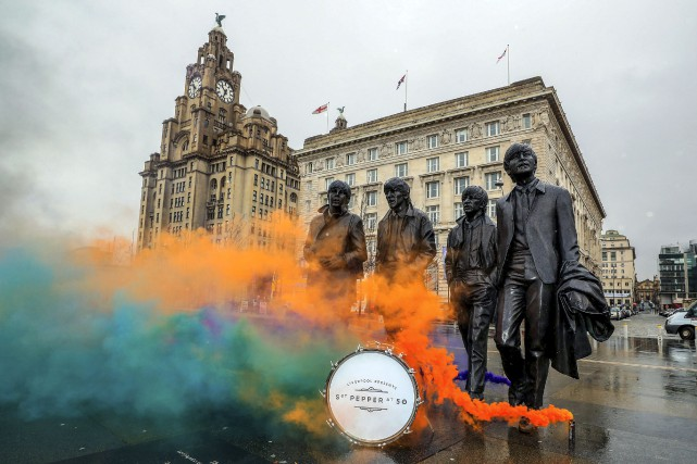 Liverpool a annoncé mercredi qu'elle soulignera cet été... (AP, Peter Byrne)