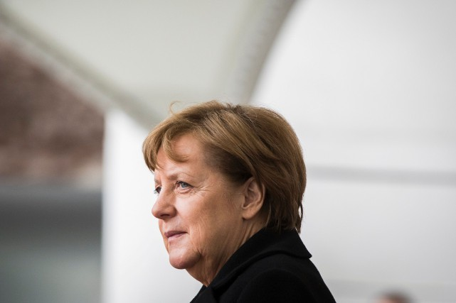 La chancelière allemande, Angela Merkel... (PHOTO Odd ANDERSEN, ARCHIVES AFP)