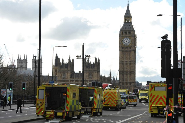 Dans la foulée de l'attaque, le Parlement, et... (Photo Niklas Halle'n, Agence France-Presse)