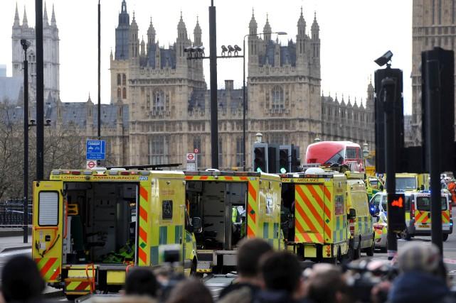 L'attaque - qui a été qualifiée d'attentat terroriste... (AFP, Niklas Halle'n)