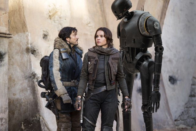 Rogue One a engrangé quelque 1 milliard $... (LUCASFILM)