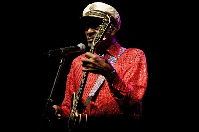 Chuck Berry en 2008.... (ARCHIVES AFP)