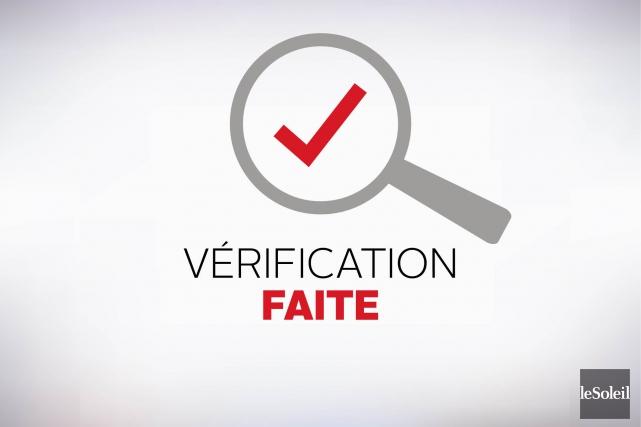 VÉRIFICATION FAITE / L'affirmation : Dans une campagne publicitaire lancée... (Infographie Le Soleil)