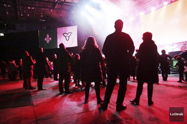 Les artistes franco-ontariens se sont succèdés sur scène... (Etienne Ranger, Le Droit)