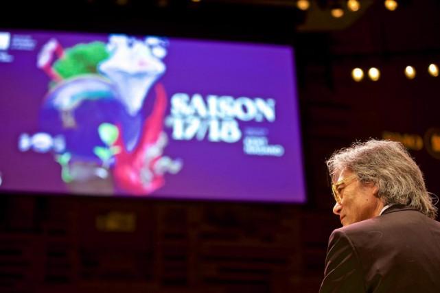 Le chef Kent Nagano a annoncé la programmation... (PHOTO ANDRÉ PICHETTE, LA PRESSE)