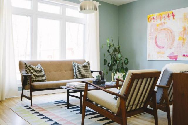 Dans la salle de séjour, chaque meuble et... (Photo Marie-Christine Gobeil, collaboration spéciale)