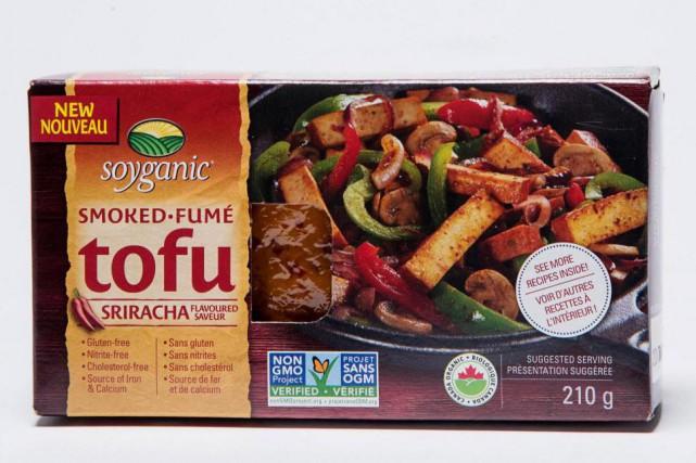 Tofu fumé à saveur sriracha... (Photo Alain Roberge, La Presse)