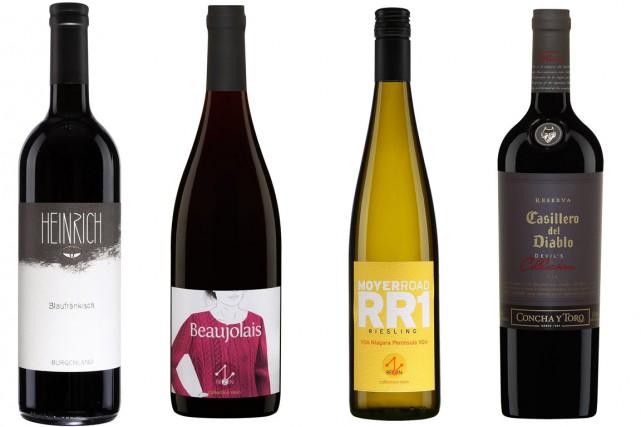 Voici quatre vins à découvrir.