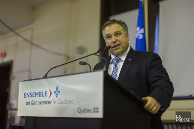 Le ministre a expliqué que cette aide découle... (PHOTO OLIVIER JEAN, ARCHIVES LA PRESSE)