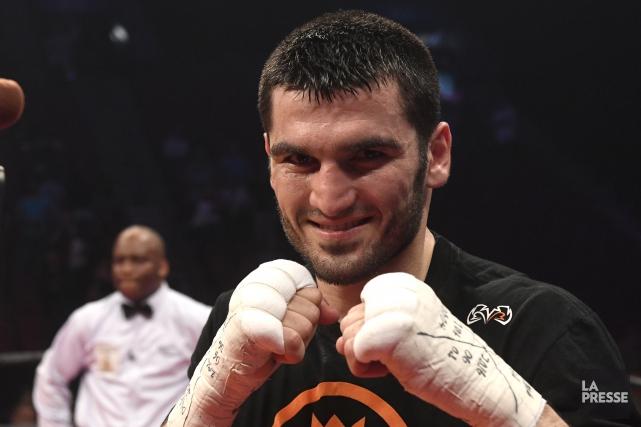 Artur Beterbiev a remporté ses 11 combats chez... (Archives La Presse, Bernard Brault)