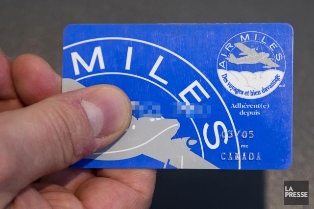 Une porte-parole d'Air Miles n'a pas été en... (PHOTO ALAIN ROBERGE, archives LA PRESSE)