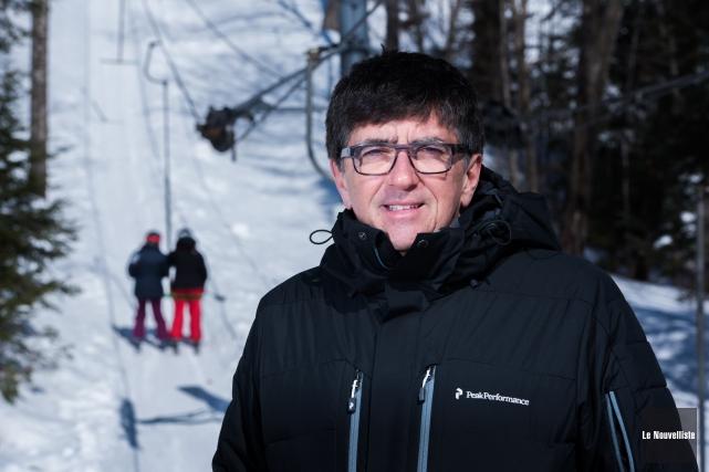 Le directeur général de la station Vallée du... (François Gervais, Le Nouvelliste)