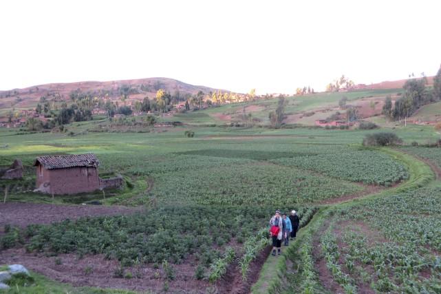 Ma journée passée dans le village de Huayllacocha,... (La Tribune, Jonathan Custeau)