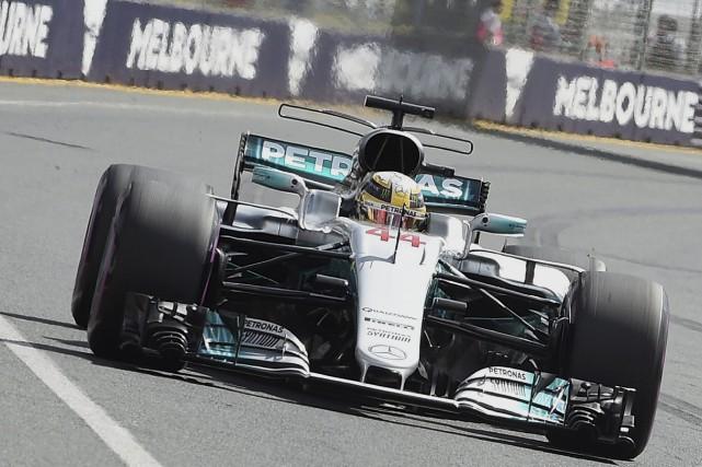Les premiers essais en prévision du Grand Prix... (AFP, Paul Crock)