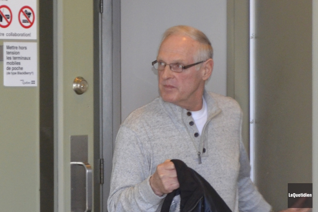 Lawrence Guillemette a agressé sexuellement dix fillettes sur... (Photo Le Quotidien, Louis Potvin)