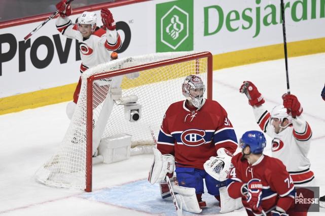 Le Canadien s'est incliné 4-1 aux mains des... (Photo Bernard Brault, La Presse)