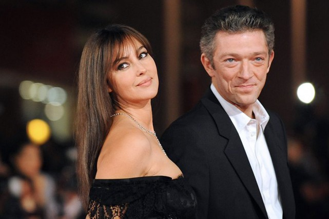 Monica Bellucci et Vincent Cassel en 2008... (Photo Alberto Pizzoli, archives Agence France-Presse)