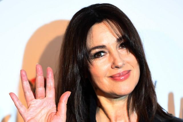 Monica Bellucci... (Photo Gabriel Bouys, AFP)