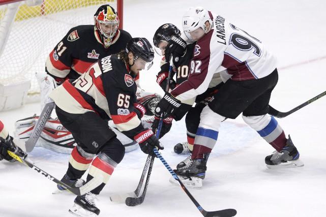 L'Avalanche du Colorado et les Sénateurs d'Ottawa disputeront deux rencontres... (Photo Justin Tang, archives AP)
