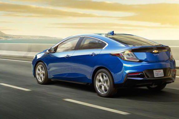 L'hybride en série Chevrolet Volt a inscrit les... (PHOTO : CHEVROLET)