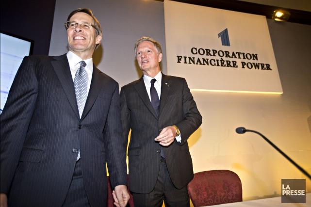 La Financière Power cherche à effectuer une expansion... (Archives, Le Soleil)