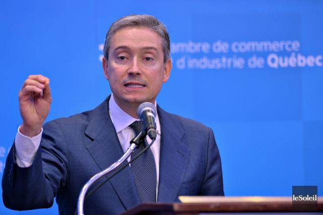 Le ministre du Commerce international, François-Philippe Champagne... (Le Soleil)