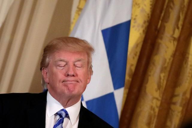 Donald Trump... (photo Carlos Barria, REUTERS)