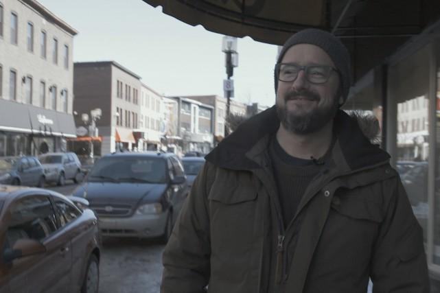 À chaque année, depuis 15 ans, le comédien... (Photo courtoisie Télé-Québec Saguenay-Lac-Saint-Jean)