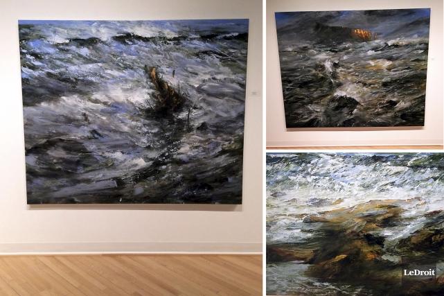 L'exposition Archipel est présentée à la galerie Montcalm.... (Étienne Ranger, Le Droit)