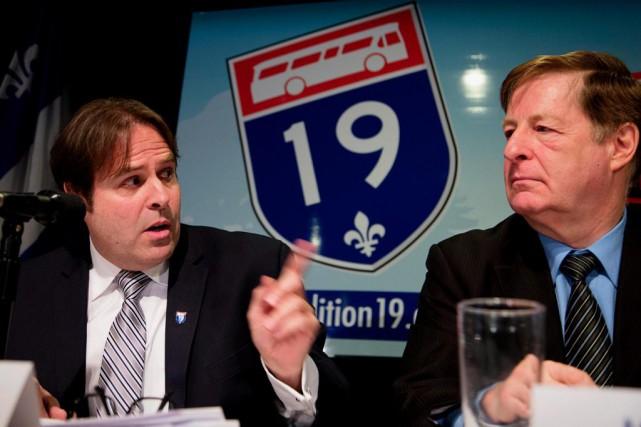 Au début du mois de mars, la Coalition... (PHOTO ALAIN ROBERGE, archives LA PRESSE)
