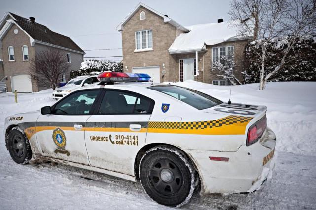 Le suspect a été arrêté par le SPVM... (Photo Patrick Sanfaçon, Archives La Presse)