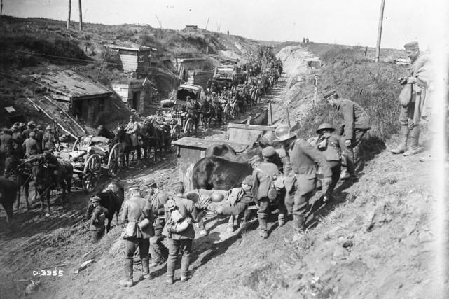 Un total de 3426 soldats canadiens ayant fait... (PHOTO FOURNIE PAR Les Archives canadiennes)