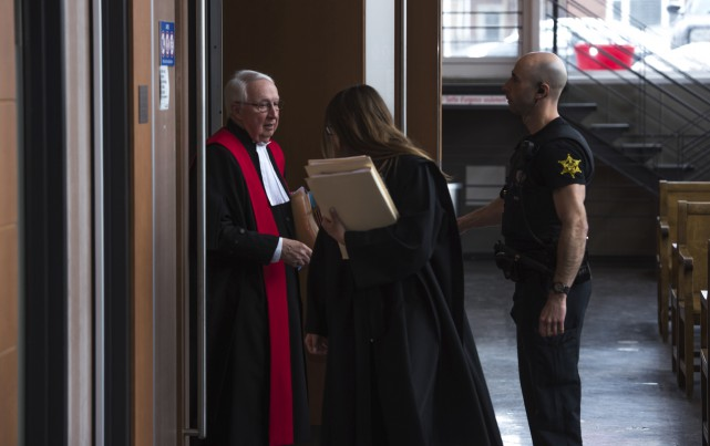 En raison d'une panne d'ascenseur, le juge Rémi... (François Gervais)