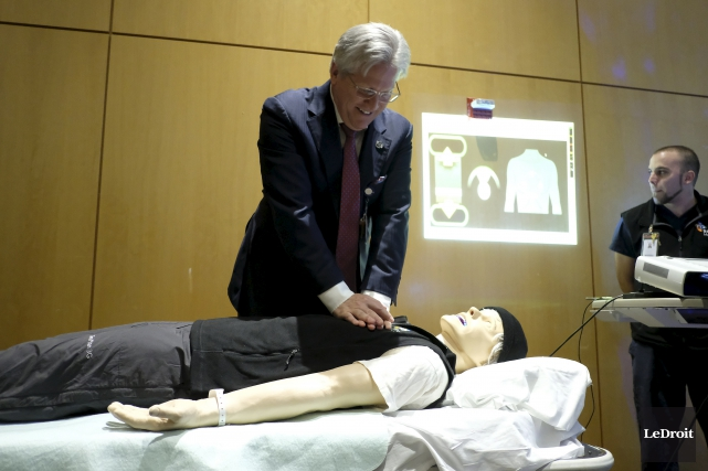 Le président-directeur général de l'Hôpital Montfort, le Dr... (Patrick Woodbury, Le Droit)