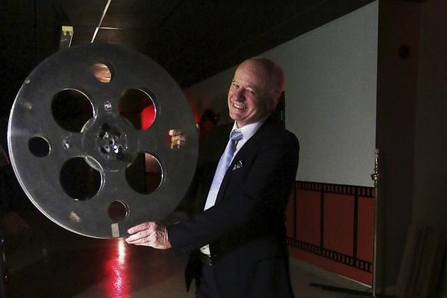 Didier Farré, président du Festival du film de... (Étienne Ranger, Le Droit)