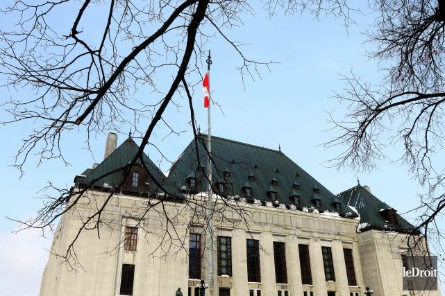 L'édifice de la Cour suprême du Canada, à... (Etienne Ranger, Archives Le Droit)