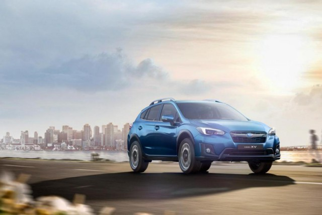 La Subaru Crosstrek 2018... (PHOTO FOURNIE PAR LE CONSTRUCTEUR)