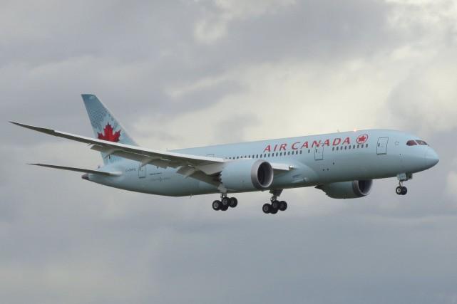 «Air Canada est le seul transporteur aérien assujetti... (Archives, courtoisie Air Canada)