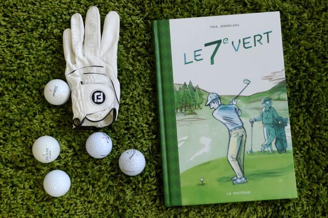Le 7e vert,dePaul Bordeleau... (Le Soleil, Erick Labbé)