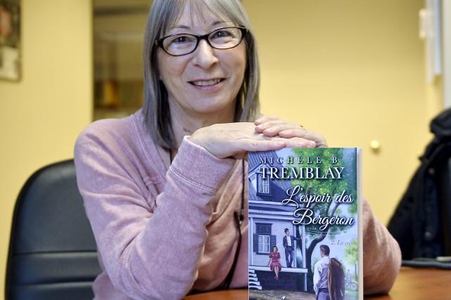 Michèle B. Tremblay vit une expérience nouvelle grâce... (Le Progrès-Dimanche, Jeannot Lévesque)