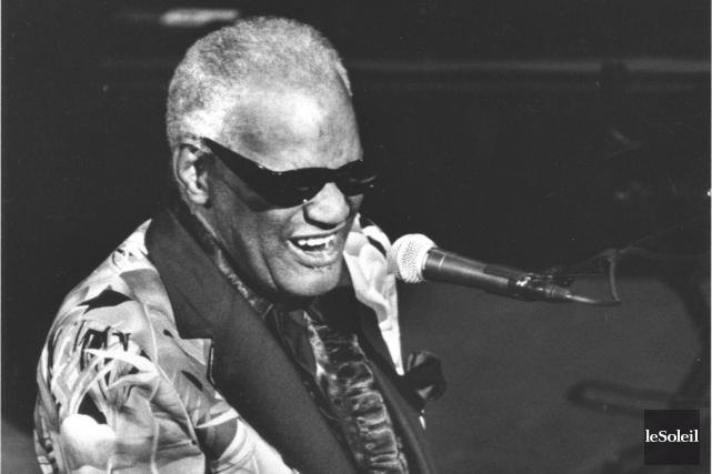 Ray Charles, sans doute l'un des musiciens qui... (Photothèque Le Soleil, Patrice Laroche)